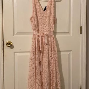 A pink dress also perfect for spring or summer!